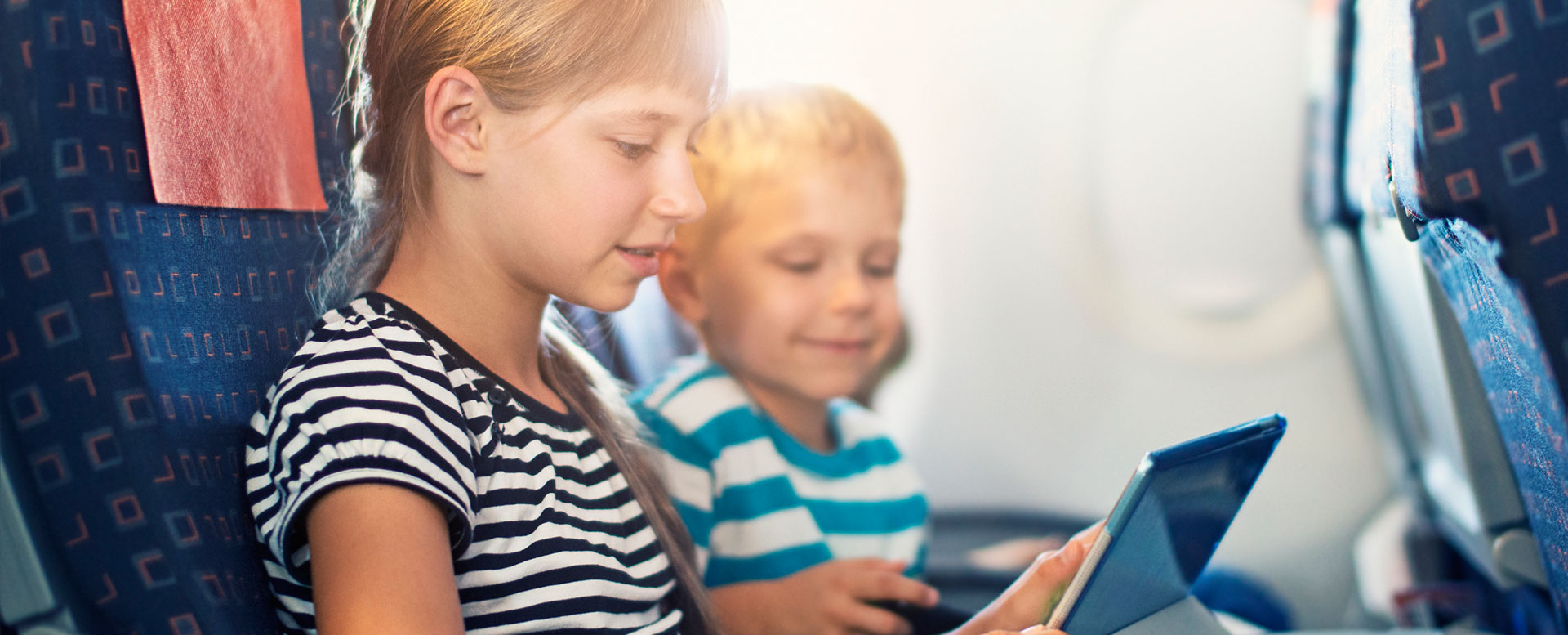 Langstreckenflüge mit Kindern - Tipps