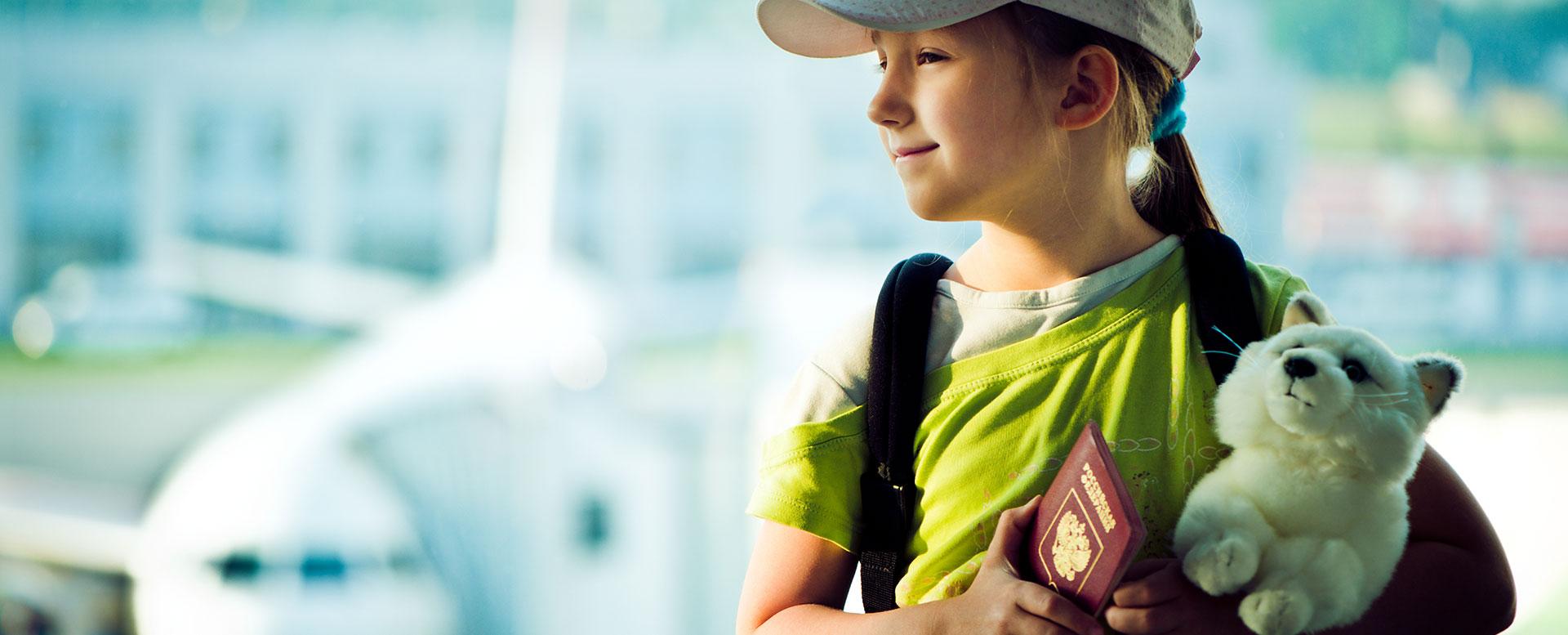 Kinderreisepass für Fernreisen