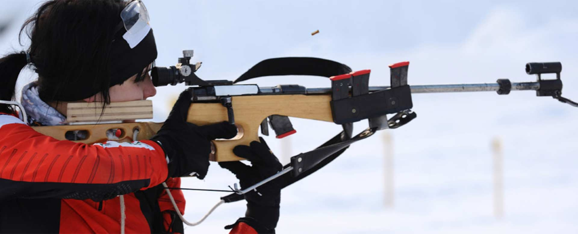 Biathlon - Schießen mit dem Kleinkalibergewehr