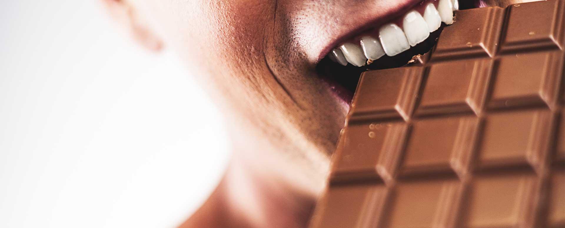 Kopfschmerzen durch Schokolade