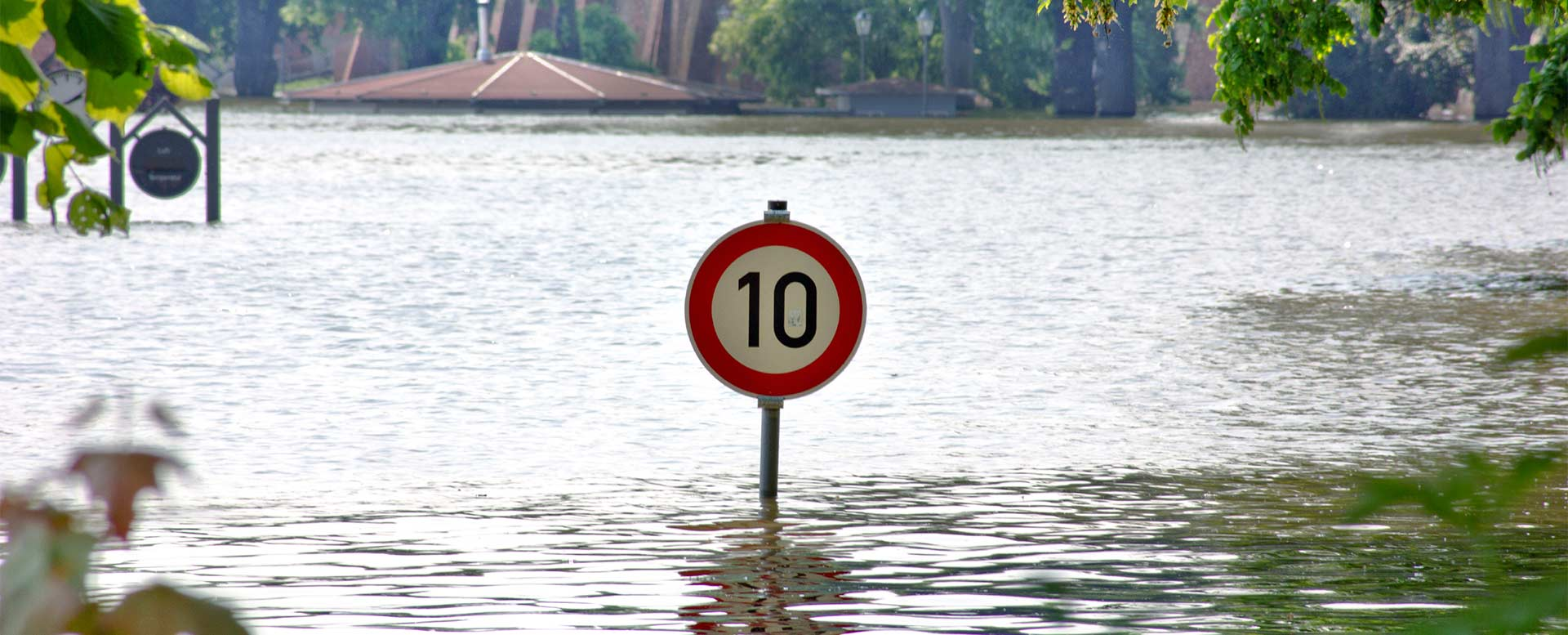 Hochwassergefahr durch Klimawandel