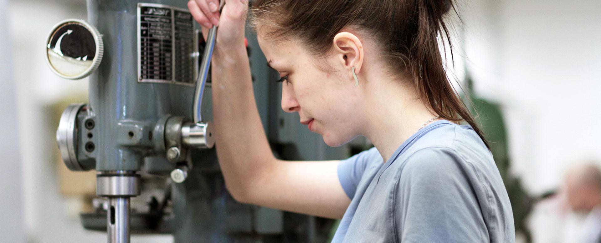 Ausbildung Industriemechanikerin