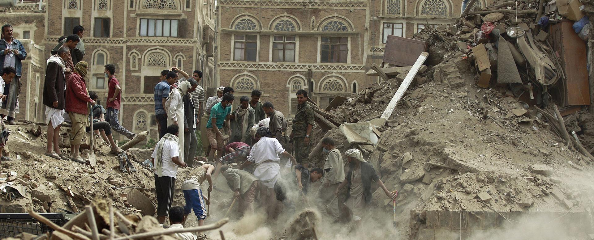 Ärztliche Hilfe wird im Jemen dringend benötigt