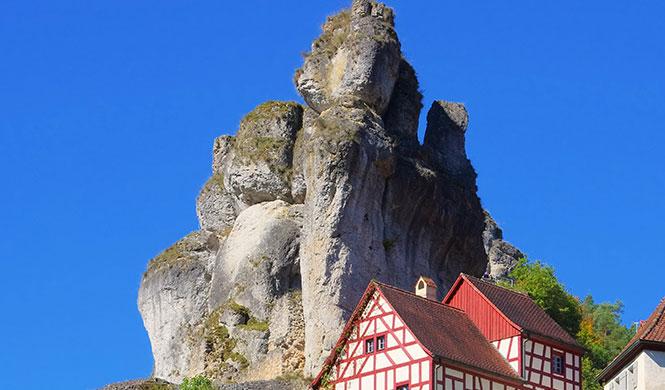 Casanovas Ausritt von Bayreuth durch die Fränkische Schweiz