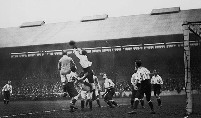 """Fußball als """"englische Krankheit"""""""