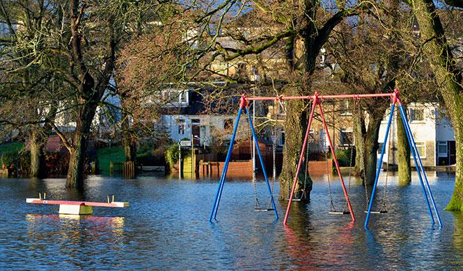 Hochwasser Selbstschutz