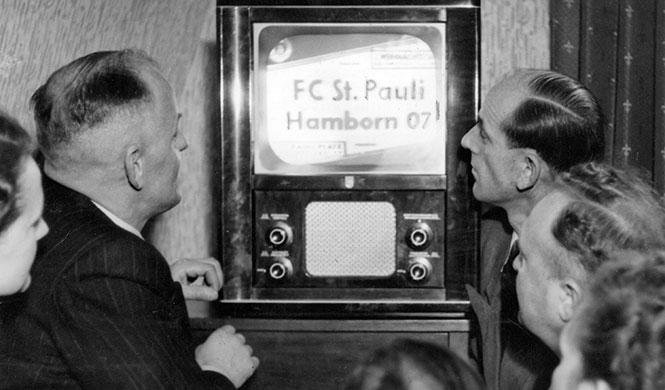 Erste Fußballübertragung Fernsehen