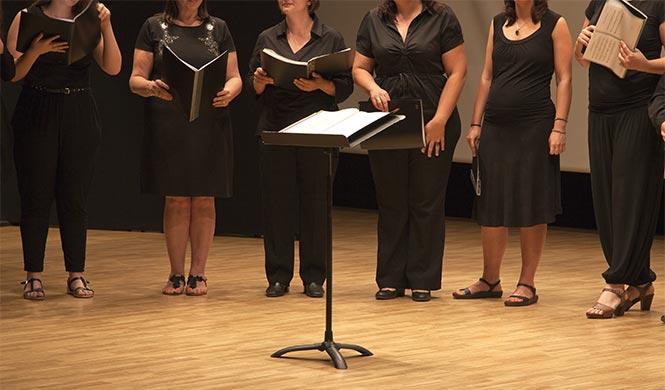 Im Chor singen