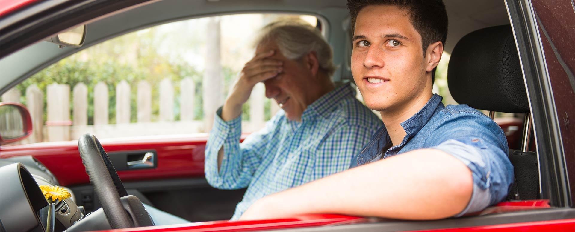 Begleitfahrer zu sein erfordert Gelassenheit