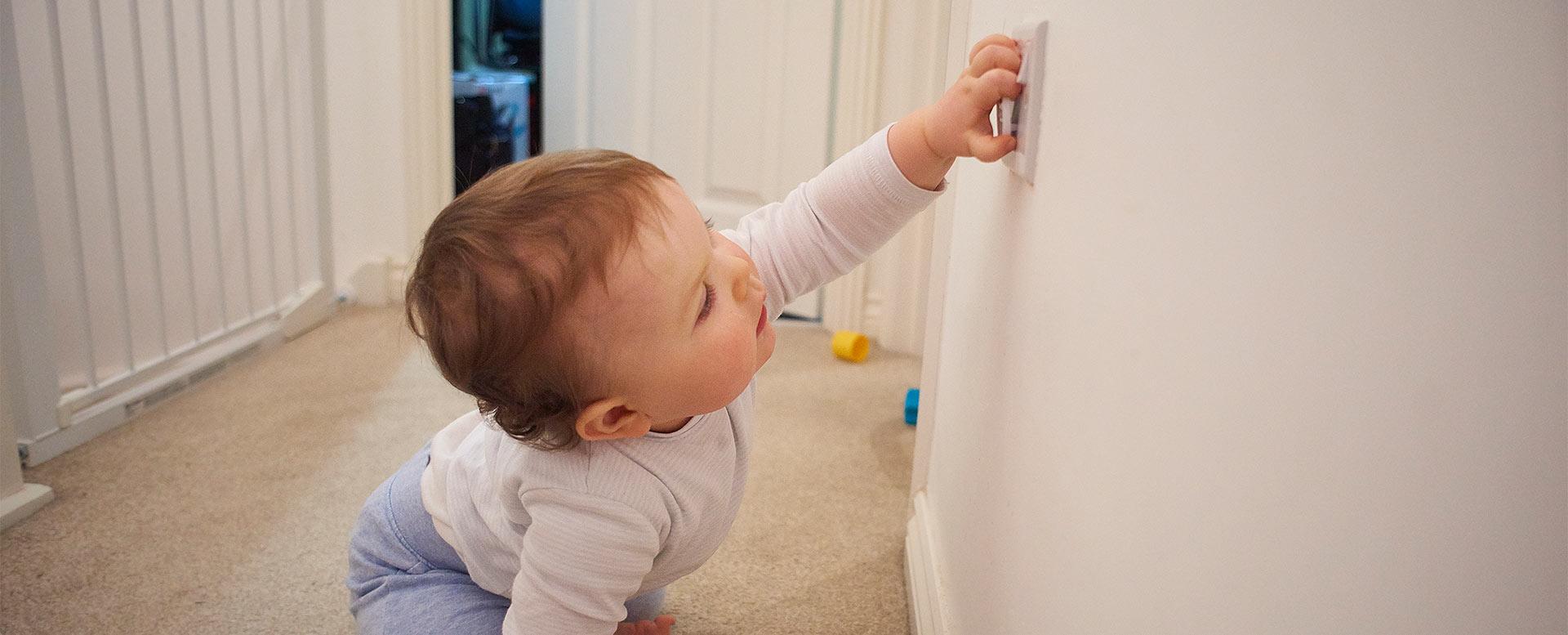 Kindersicherung für Steckdosen