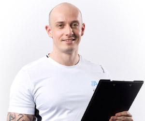 Sascha Linz, Personal Trainer