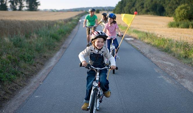 Fähnchen/Wimpel Kinder Fahrrad