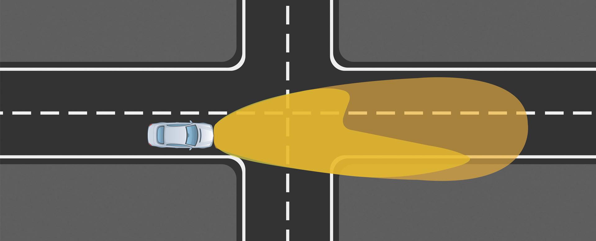 Auto-Lichter: Abblendlicht versus Fernlicht