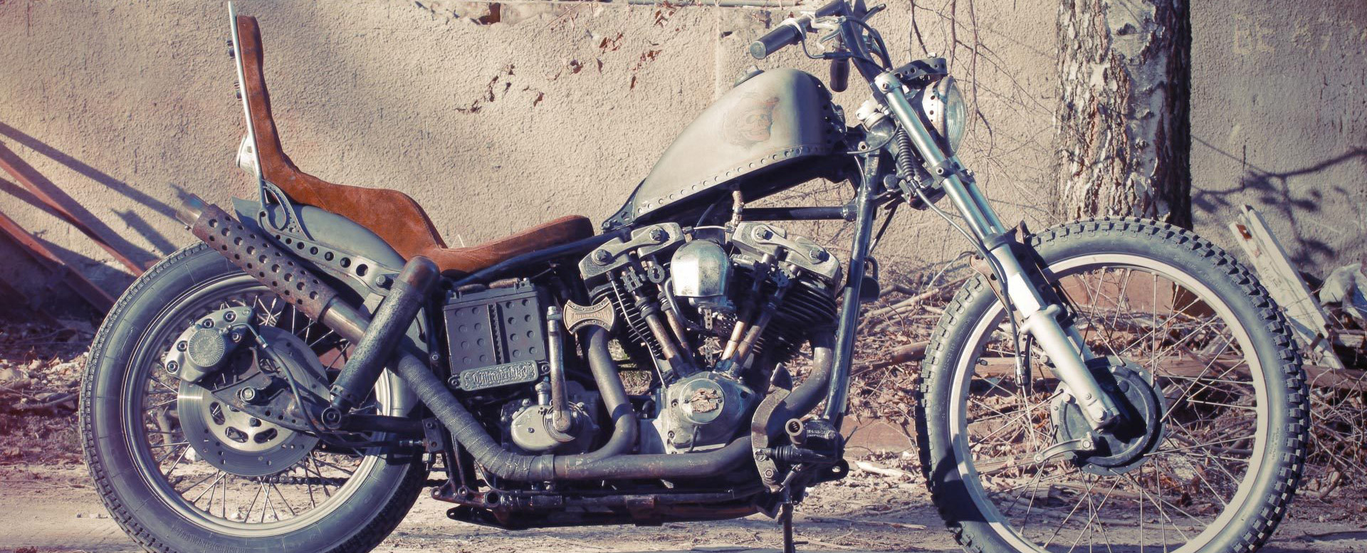 Harley Davidson® Ratbike von Thunderbike