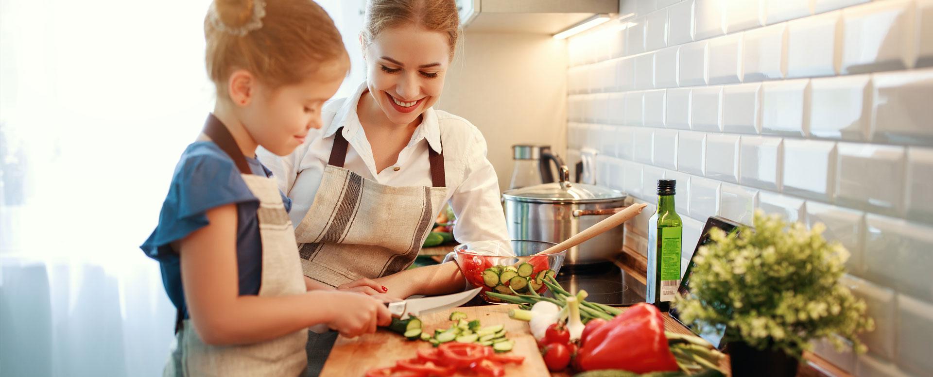 Kochen mit Kindern - Rezeptideen