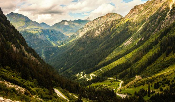 Motorradtour Silvretta