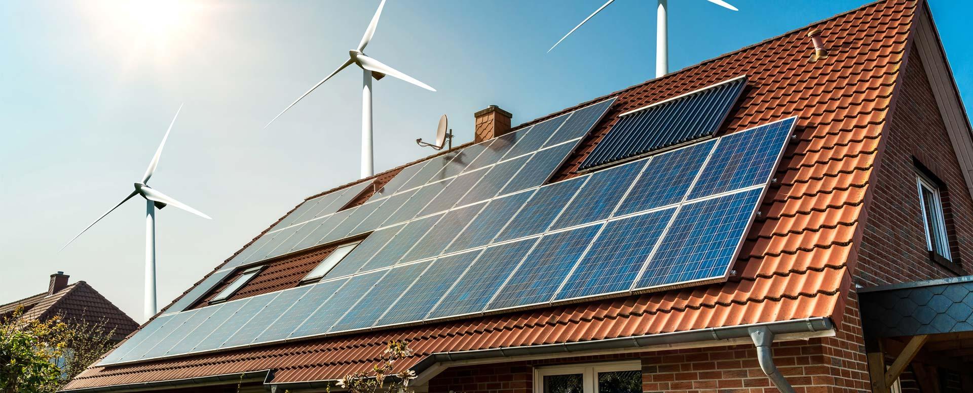 Photovoltaik-Anlage mit Solarthermie