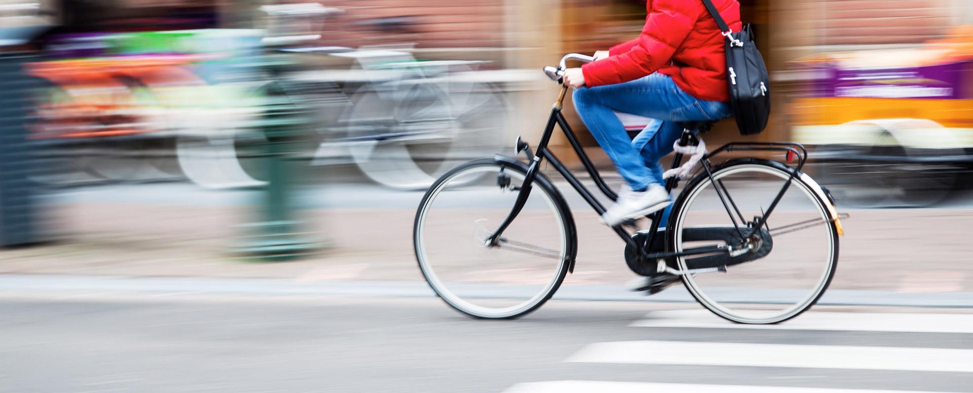 Fahrrad fahren fürs Klima