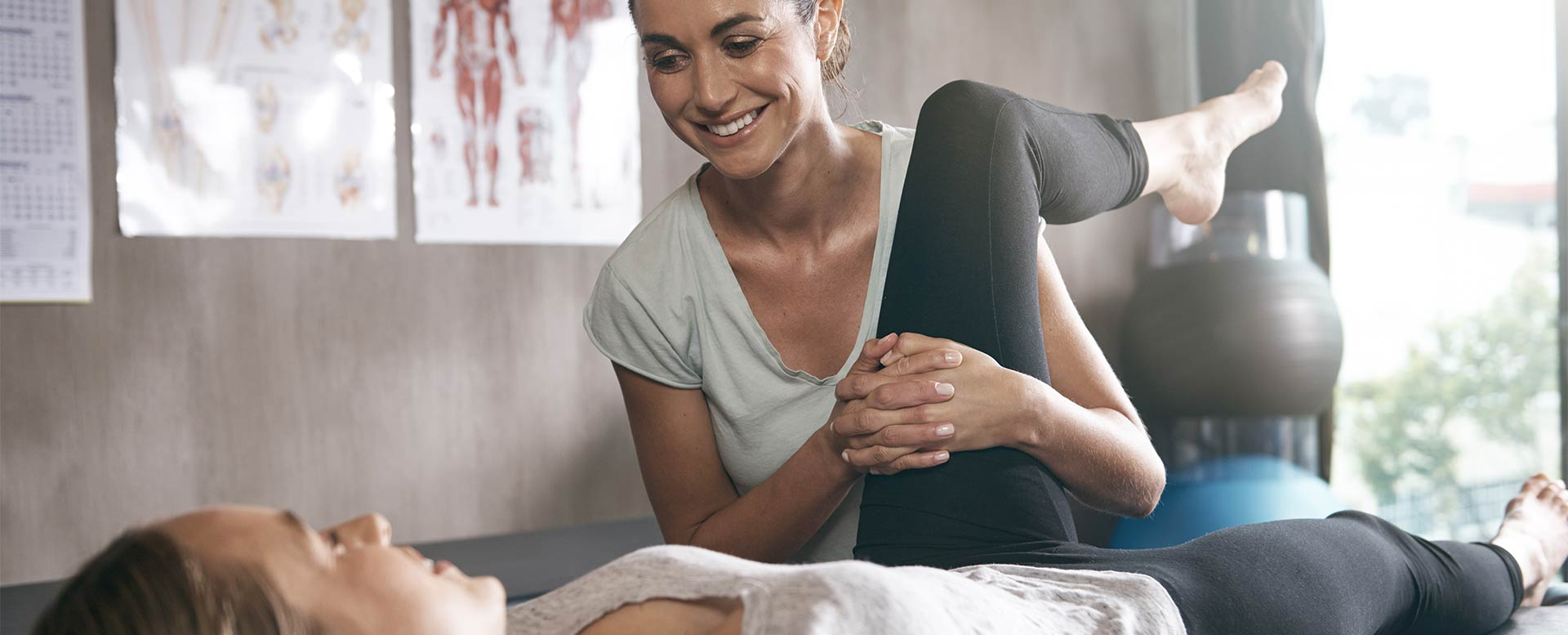 Physiotherapie nach Freizeitunfall