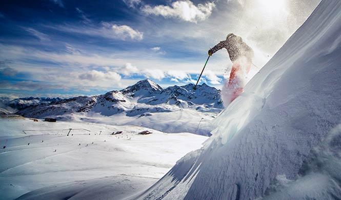 Kurztrip in Skigebiete