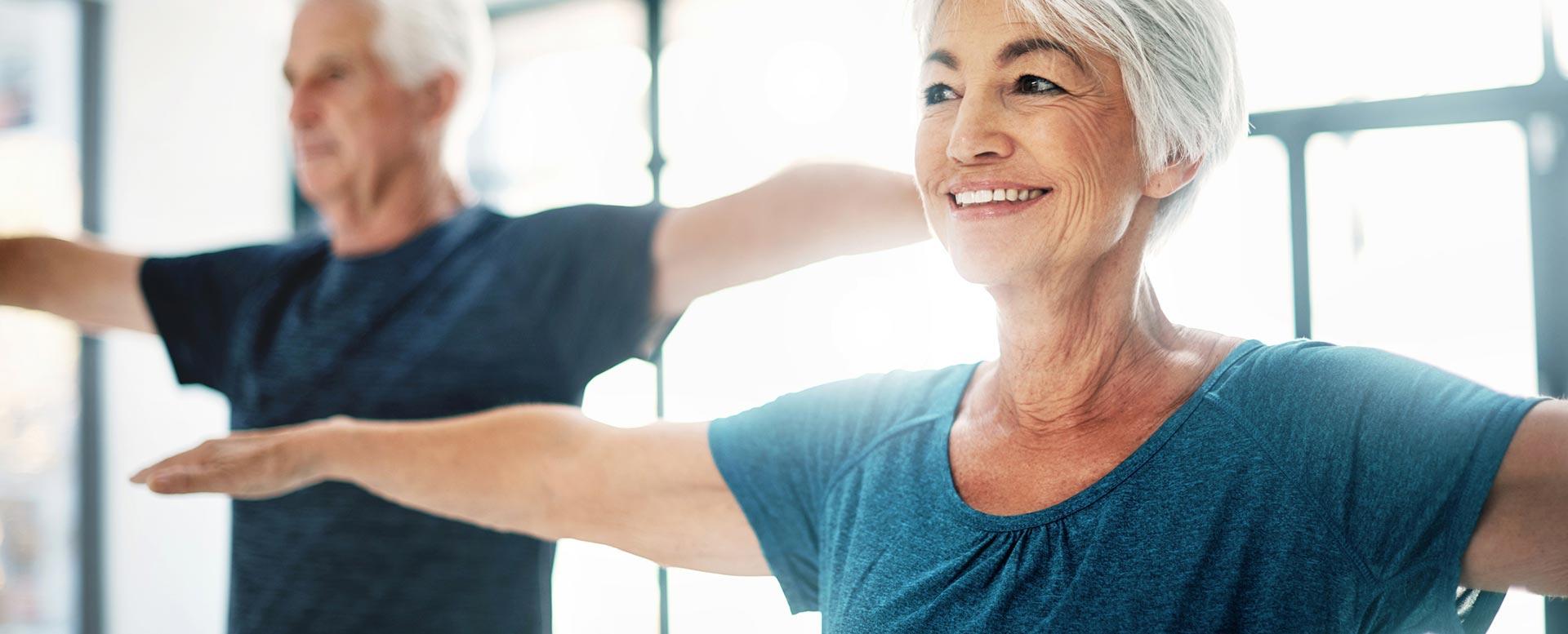 Die neuen Alten halten sich fit und gesund