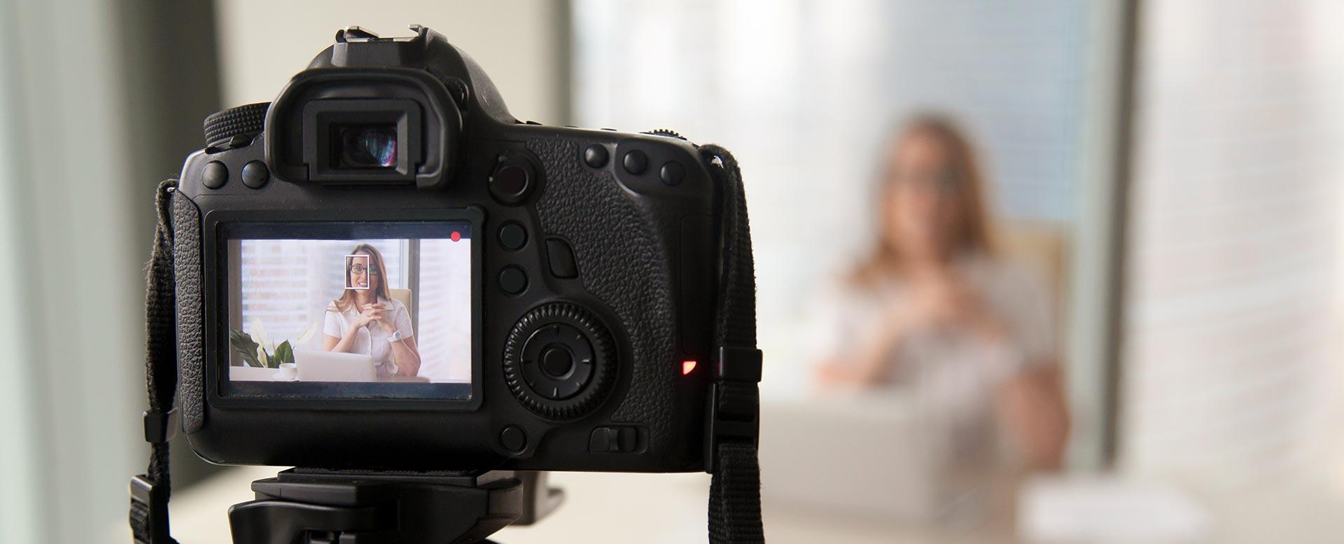 Online bewerben mit Video