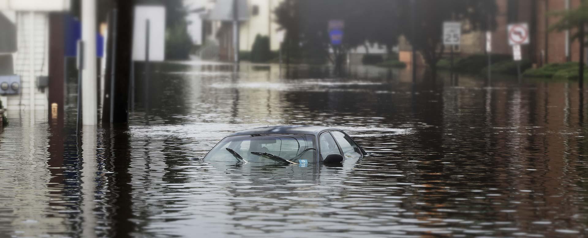 Starkregen in Deutschland