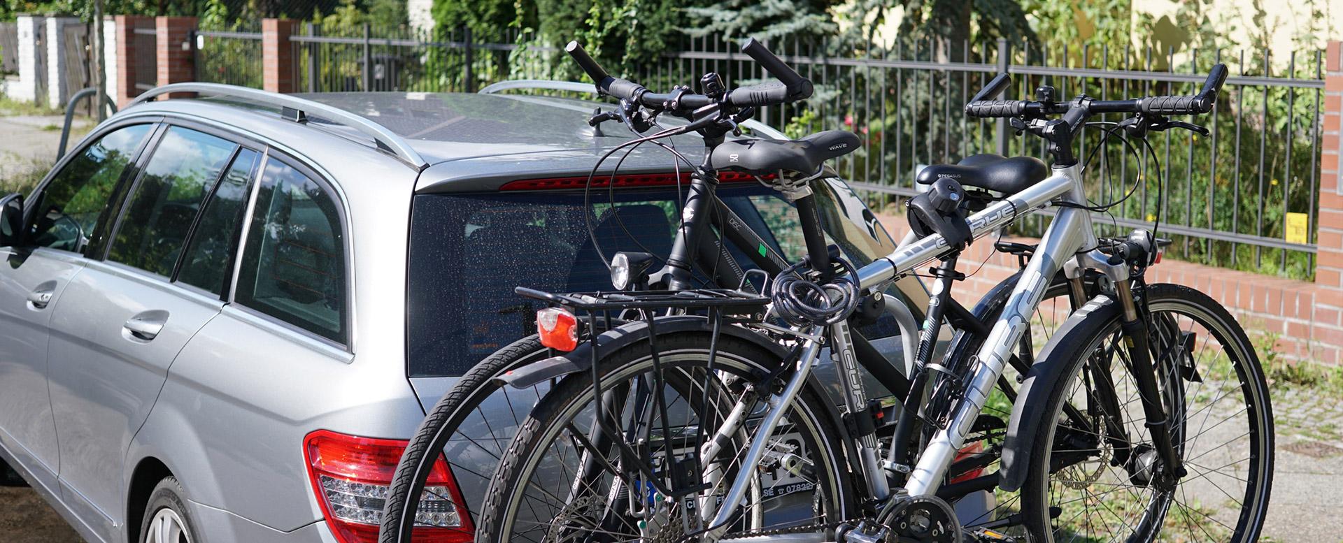 Auto packen - Heckträger für Fahrräder