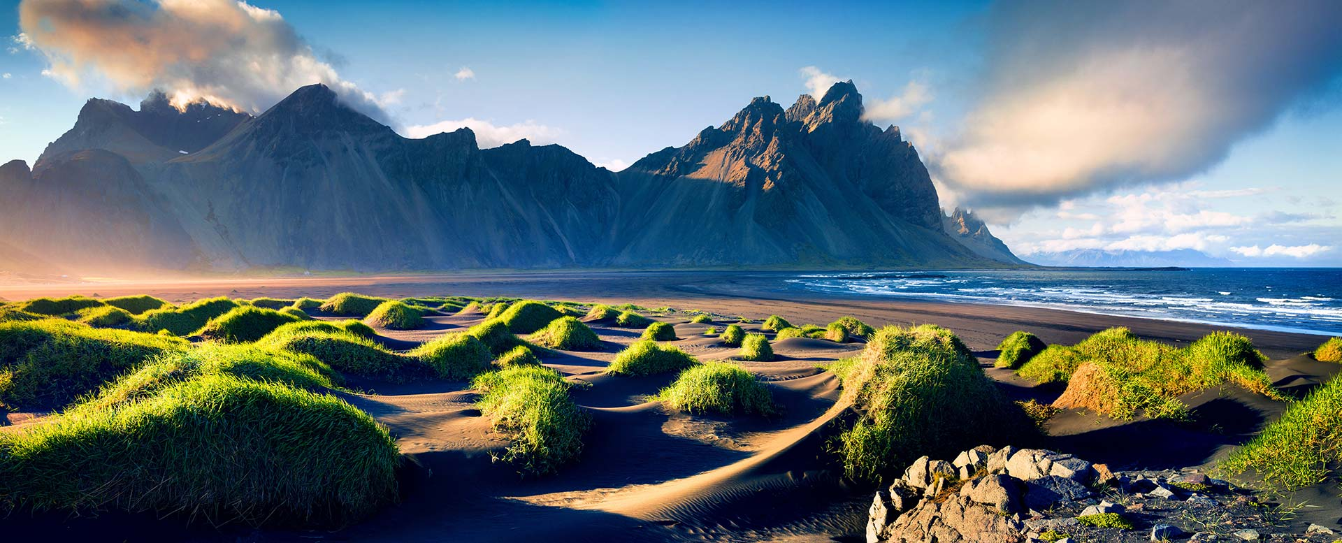 Flitterwochen-Ziel Island