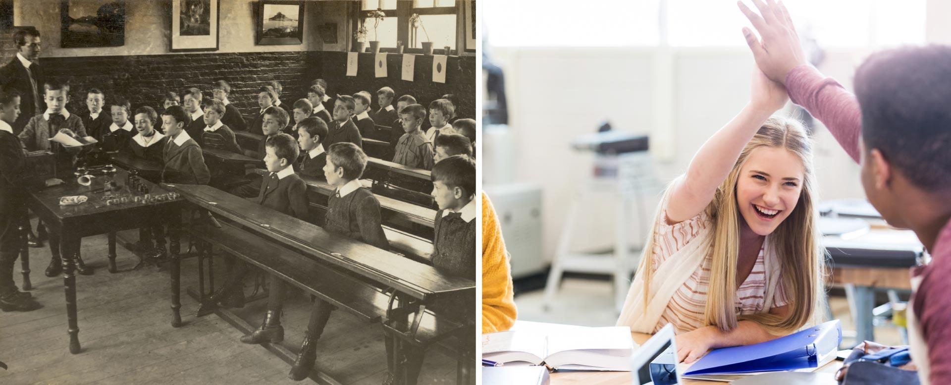 Trennung von Jungen und Mädchen in der Schule