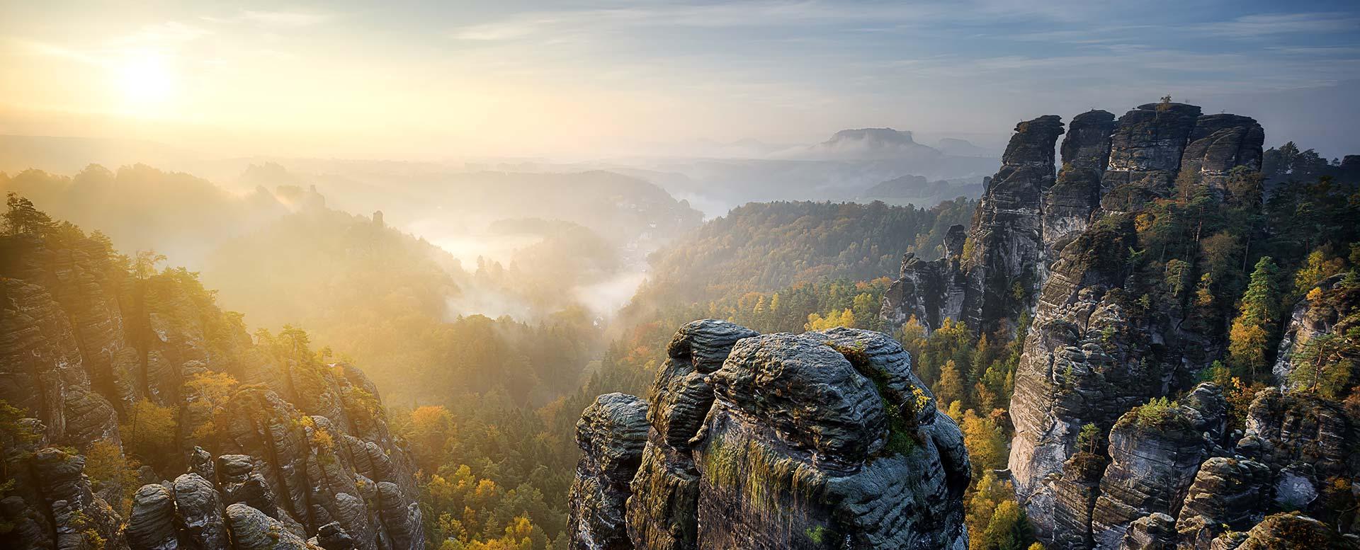 Nationalparks Deutschland - Sächsische Schweiz