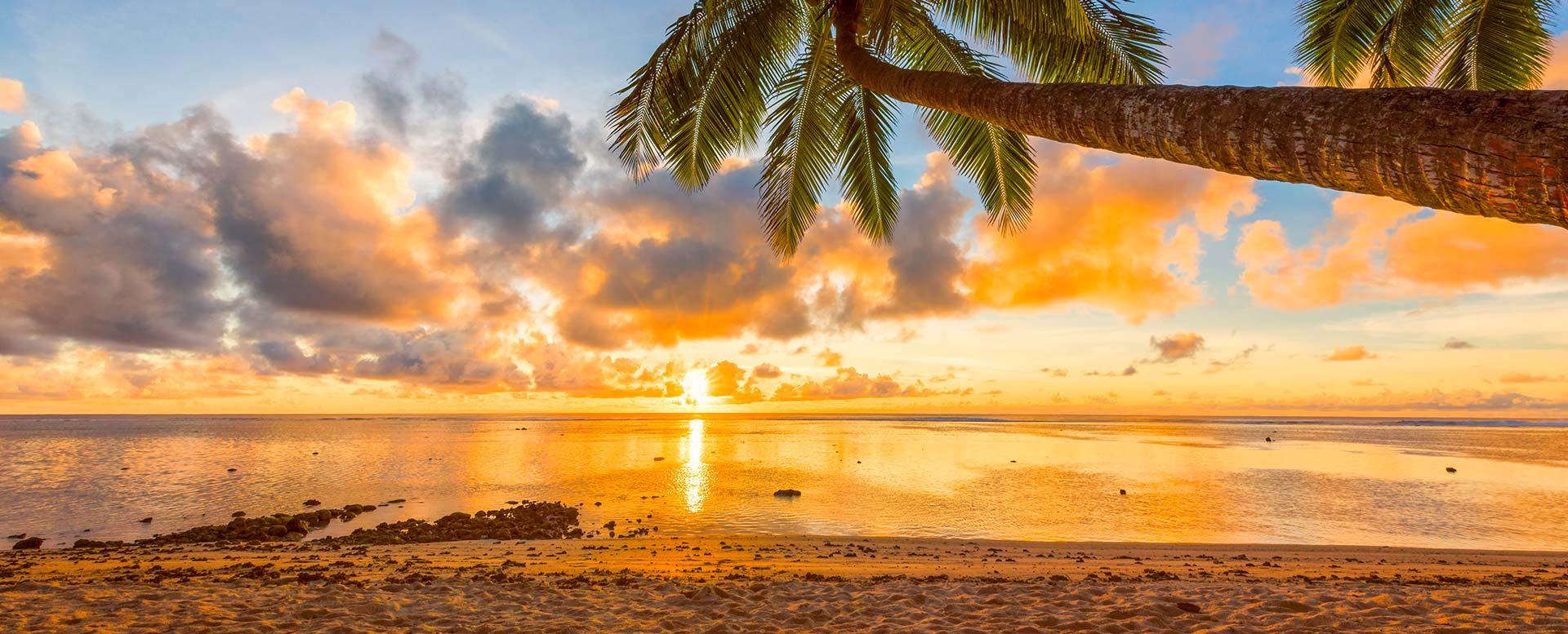 Flitterwochen-Ziel Cook-Inseln