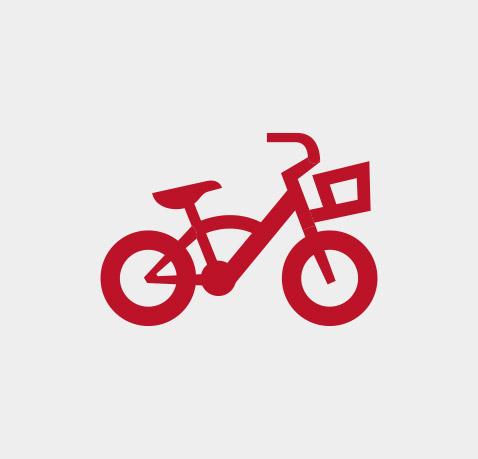 Fahrradprüfung für den Schulweg