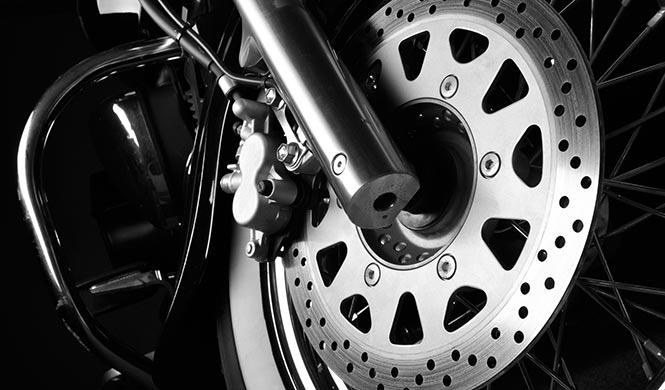 Motorrad Bremse