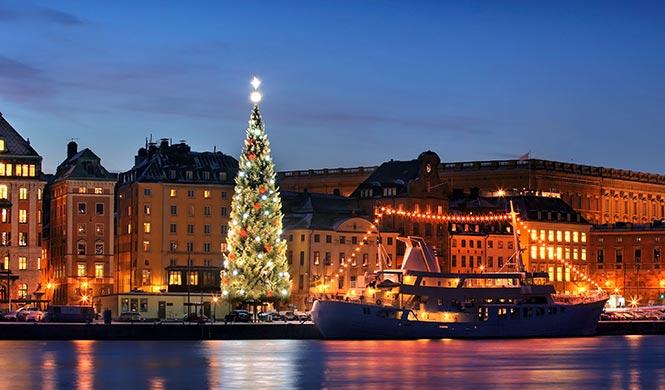 Weihnachtsurlaub in Skandinavien